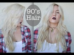 90's Grunge Hair Style - YouTube  Source 10