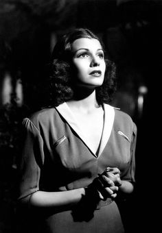 """As """"Judy MacPherson"""" in """"Only Angels Have Wings"""", 1939"""
