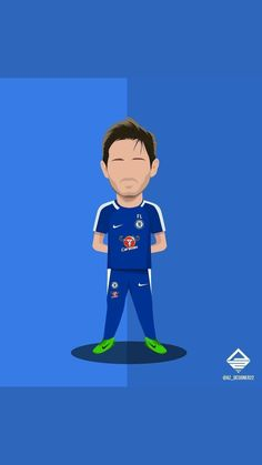 Chelsea Wallpapers, Chelsea Fc Wallpaper, Funny Soccer Pictures, Football Pictures, Football Background, Cartoon Painting, Chelsea Football, Sports Art, Football Boots