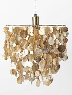 Capiz shell chandelier http://rstyle.me/n/nwxdnn2bn