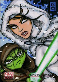 SW Galaxy: ARC Yoda Padme by ~grantgoboom on deviantART