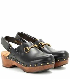 Leather clogs | Gucci