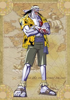Arlong - One Piece by on DeviantArt Arlong One Piece, One Piece Seasons, One Piece Series, One Piece World, One Piece Luffy, One Piece Anime, One Piece All Characters, One Piece English Sub, Zoro Nami
