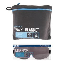 Flight 001 F1 Emergency Blanket & Eye Mask Set