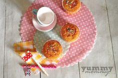 Muffins with orange {Πορτοκαλένια muffins} Baby Food Recipes, Kids Meals, Muffins, Orange, 12 Months, Cupcake, Babies, Drink, Health