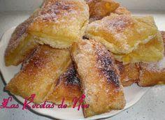 Teresitas de crema Sweet Recipes, Cake Recipes, Aesthetic Food, Desert Recipes, Sin Gluten, Sweet Tooth, Bakery, Sweet Treats, Deserts