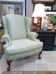 Broyhill Wingback $269.00. - Consign It! Consignment Furniture