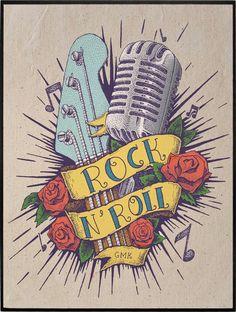 ROCK N ROLL TATTOO