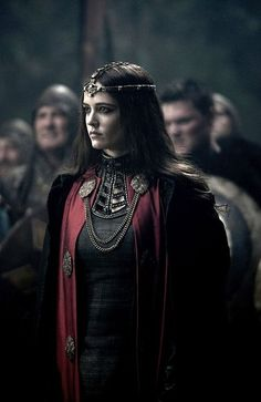 Eva Green as Morgana in the Camelot series