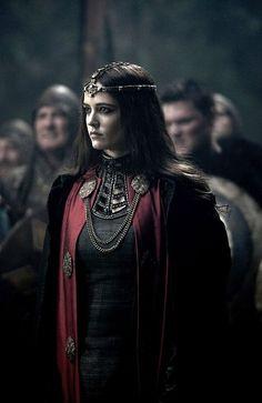 Eva Green as Morgana in the Camelot series
