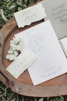 chic wedding invitation style; Roberta Facchini Photography