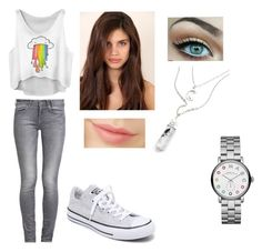 """""""Untitled #117"""" by maria-beatriz99 on Polyvore featuring GUESS, Converse, Sugarpill and Marc by Marc Jacobs"""