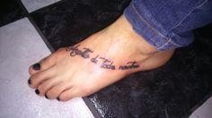 Mel y su primer tattoo!!!