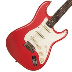 "2015 Fender Custom Shop '59 Stratocaster Ltd Edition 2015, Fiesta Red, Journeyman Relic, NAMM show guitar - SOLD | Garrett Park Guitars ""Hall of Fame"" | www.gpguitars.com"