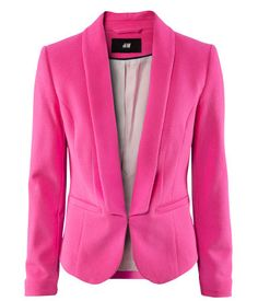 candy waterfall jackets - can see the hot pink one over white ...