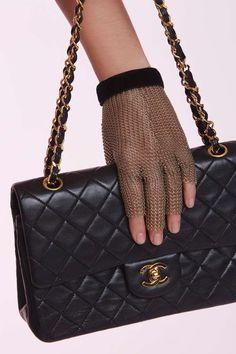 Vintage Chanel Chainmail Glove   Shop Vintage at Nasty Gal!