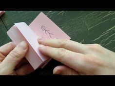How to make a Flip Book Animation - Animation Lesson