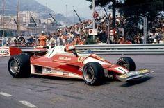 Niki Lauda & His Ferrari