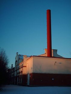 Myllytulli old hydroelectric power station. Oulu, Northern Ostrobothnia - Pohjois-Pohjanmaa - Norra Österbotten