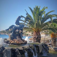"#fbf ""Panagia Gorgona"" statue or Virgin Mary the Mermaid #syros #greece The sculpture is a tribute to fishermen lost at sea #discover #travelgems_greece #greekislands #summer2K17 #summeringrecce #travelgems #localart #travelgemscom"