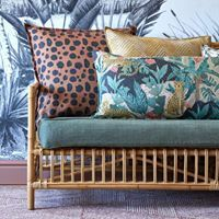 Serengeti is a colourful couture upholstery collection featuring a harmonious ensemble of foliage, pattern and animal prints. View this collection in-store and online here. Hertex Fabrics, Fabric Suppliers, Cushion Fabric, Outdoor Fabric, Color Inspiration, Living Room Decor, Love Seat, Upholstery, Pillows