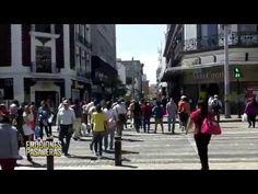 la Banda MS Sorprende a la gente en plaza universidad guadalajara - YouTube