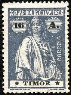 """1894 Scott 29 light green """"King Carlos"""" Quick History Situated in the Malay Archipelago, off the northern coast of Australia, the m. Portugal, Dutch East Indies, Timor Leste, Coast Australia, East Africa, Archipelago, Stamp Collecting, My Stamp, Postage Stamps"""
