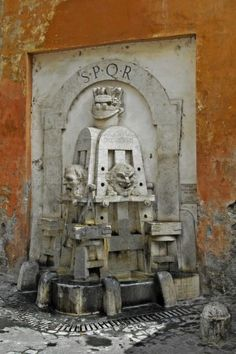 Fontana degli Artisti, Rome