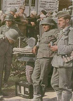Image result for German Wehrmacht Soldier Color