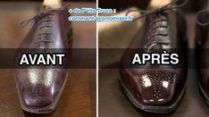 Vos chaussures en cuir vernisont devenues ternes ?C'est vrai qu'avec le temps, les vernisperdent leur éclat et se mettent à craqueler.Heureusement, il existe un truc fa