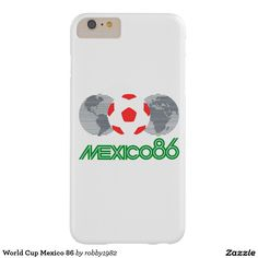 World Cup Mexico 86 Barely There iPhone 6 Plus Case
