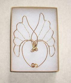 Elf Ear Cuffs Valkyrie Wings Gold Heathen by SummerWoodCrafts                                                                                                                                                                                 Más