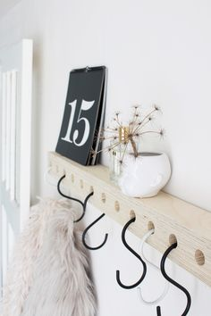 Modern Coat Hooks, Laundy Room, Vintage Thrift Stores, Store Interiors, Dream Closets, Wet Rooms, Floating Nightstand, Interior Inspiration, Sweet Home