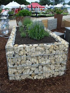 Creative Gabion Outdoor Decorations That Will Amaze You