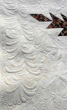 Gorgeous filler quilting