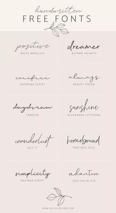Handwritten Free Fonts Posted by Skyla Design . - Handwritten Free Fonts Contributed by Skyla Design … – - Mini Tattoos, Body Art Tattoos, Tatoos, One Word Tattoos, Name Tattoos, Tattoo Words, Tattoo Phrases, Danty Tattoos, Fine Line Tattoos
