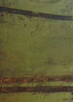 Rebecca Crowell, Green Alchemy 2010, oil and wax on panel