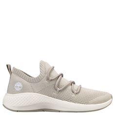 pretty nice b1671 bf141 Timberland Women s FlyRoam Go Knit Sneakers Beige Knit
