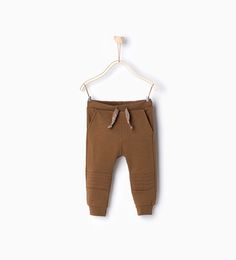Image 1 of Trousers with knee patch from Zara