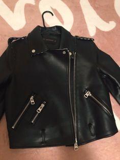 da4e36903e6 Jafrum motorcycle gear womens black leather jacket size small  fashion   clothing  shoes