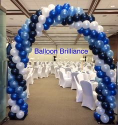 "#Welcome"" #entrance #arch #schoolformal #BalloonBrilliance"