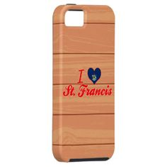 I Liebe St Francis, Maine iPhone 5 Cover