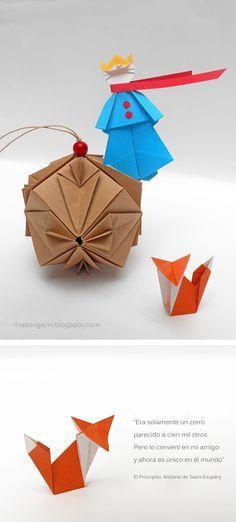 mas origami: El principito en versión origami