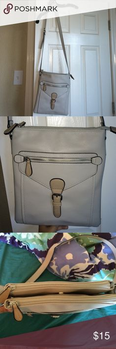 Charming Charlie's purse Brand new, never worn, perfect condition. It has lots of pockets and hidden pockets. Charming Charlie Bags Crossbody Bags