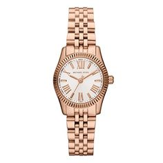 Michael Kors Womens MK3230 Lexington Rose Gold Stainless Steel Watch *** Click on the image for additional details.