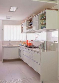 Antes e Depois do Apartamento decorado 60 m²: planejado e com personalidade. Blog Achados de Decoração