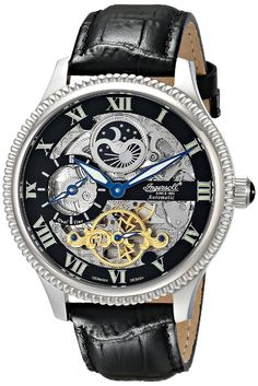 Ingersoll IN2713BK Skeleton Limited Edition Watch - Available at Watchismo
