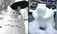 There's been an unprecedented amount of snowfall in Tokyo, Japan so far this year. The most recent was basically just a giant anime snow storm. Anime Snow, Snow Art, Singapore, Tokyo, Bring It On, Good Things, Japan, Outdoor Decor, People