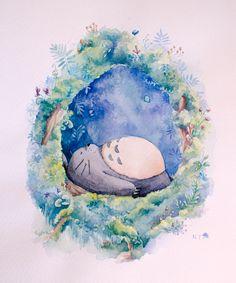 totoro fan art tumblr - Google Search