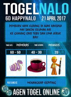Pakong 4D Togel Wap Online Kupon HappyNalo Jakarta 21 April 2017